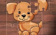 Puppy Puzzle Time